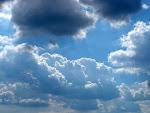 olhar das nuvens