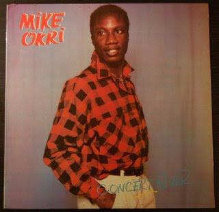MIKE OKRI - concert fever LP 1989