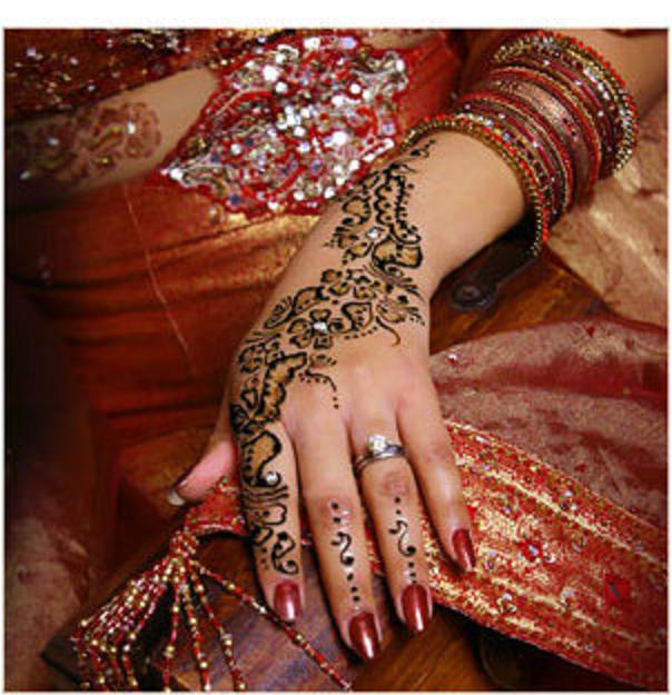 bridal henna tattoo wallpaper
