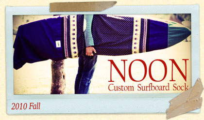 NOON Custom Surfboard Sock