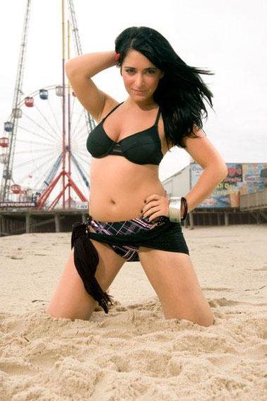 Jersey shore filles nues