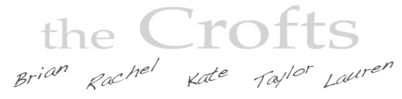 Crofts Family Blog