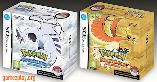 Pokemon SoulSilver and Pokemon HeartGold