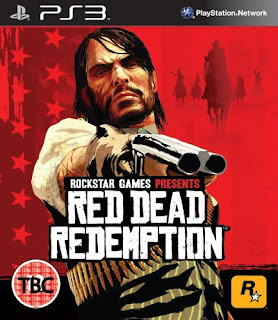 red dead redemption PS3 box artwork