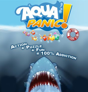 Aqua Panic! underwater puzzle video game
