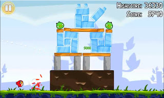 Angry Birds video game 3 Star solution