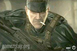 Metal Gear Solid iphone game