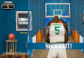 nba 10 psp video game hoops