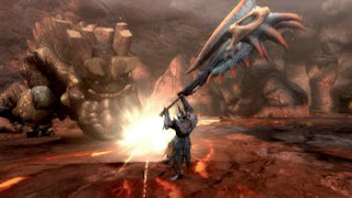 Monster Hunter Tri  nintendo wii game screen