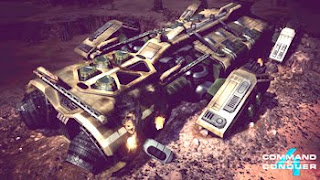 Command &amp; Conquer 4 vehicle in the game
