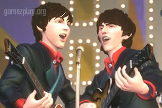 paul mccarney and ringo starr singing in rock band
