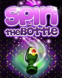 spin the bottle logo