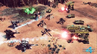  Command &amp; Conquer 4 Tiberian Twilight battle scene