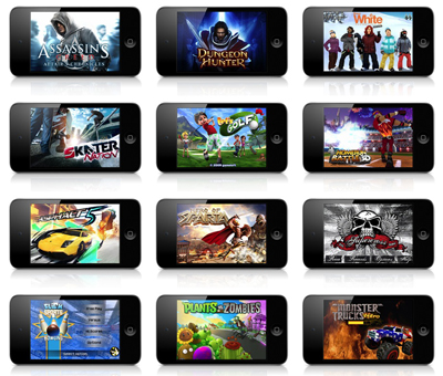 best games for ipod touch free