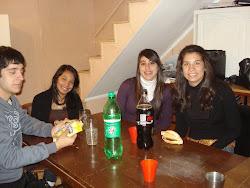 Germán, Karen, Daniela y Karen