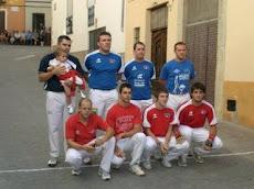 Partida de festes Castells 2008