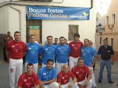 Partida de festes Castells 2009