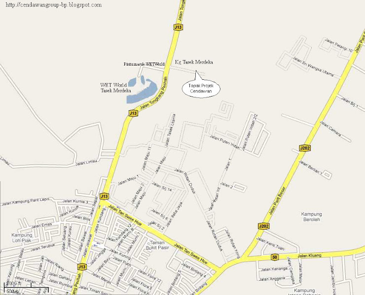 Peta Lokasi Projek