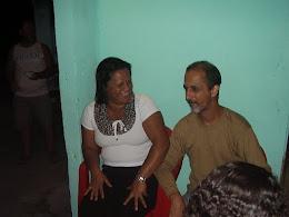Missionária Valéria e esposo irmão Julio