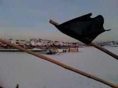 Stocken på vintern