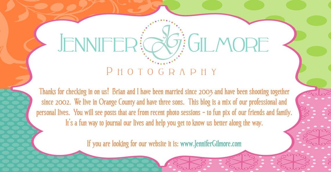 Jennifer Gilmore Photography's Blog
