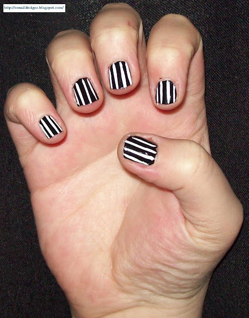 ez nail design pin stripe