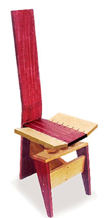 Cadeiras de costas altas