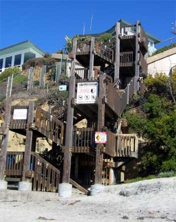 O Bar de praia precisa de Escadas?