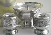 Celtic Unity Candle Holders