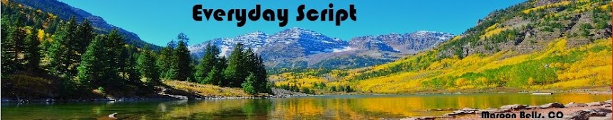 Everyday Script