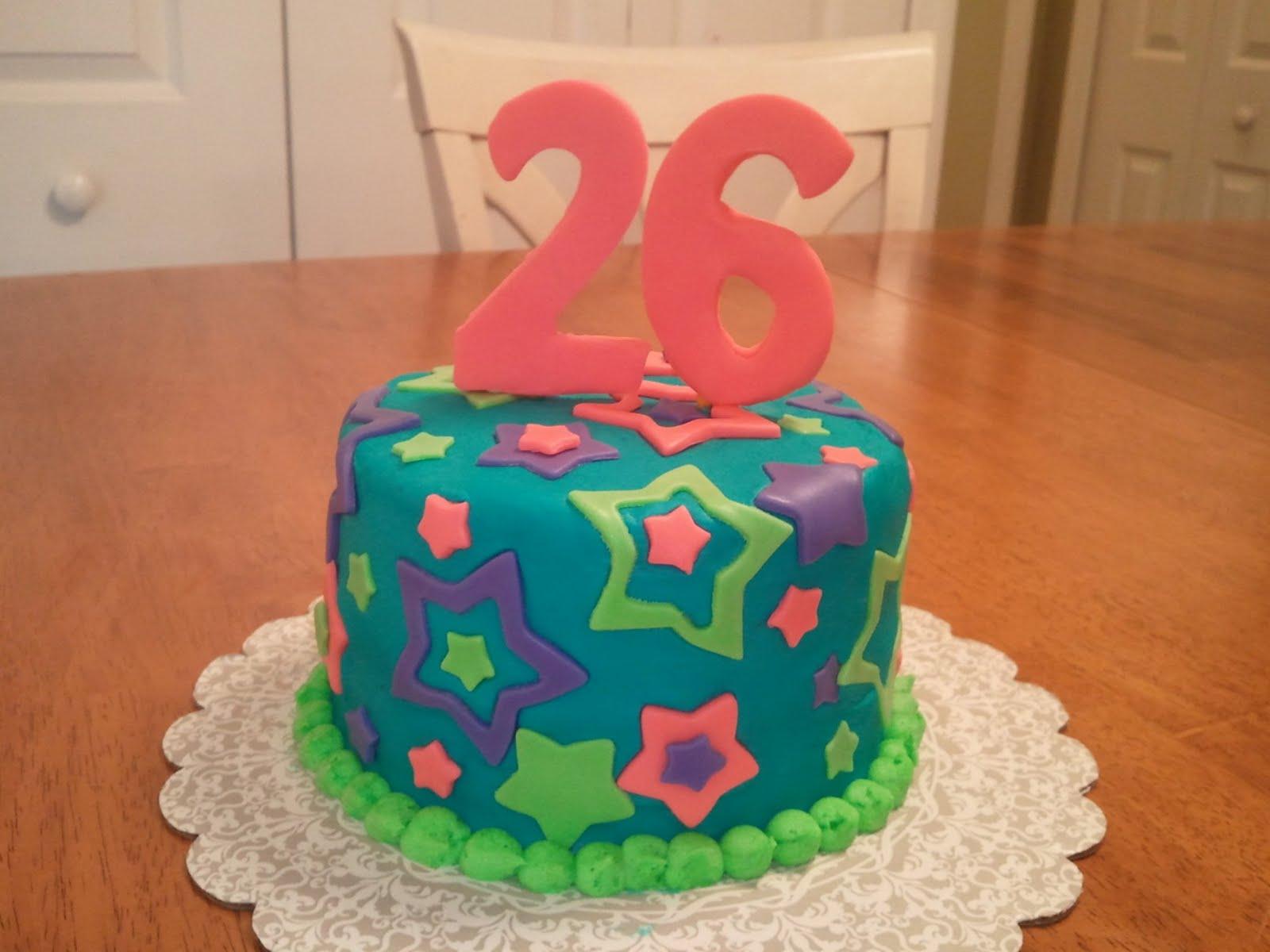 Raising Boys Kristis 26th Birthday Cake