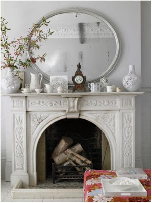 1000 Ideas About Mirror Above Fireplace On Pinterest Brick Decor Gallery