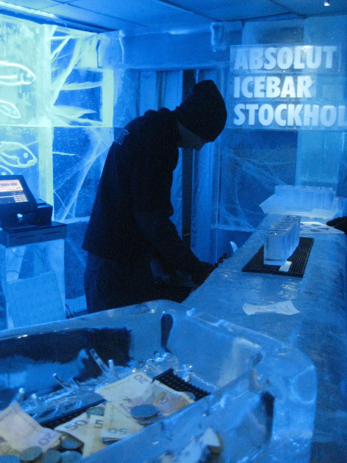 Absolut Icebar de Estocolmo, foto: Planeta Sorprendente