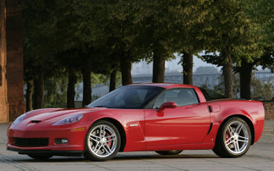 2006 z06 Corvette Crystal Red Coupe Raffle