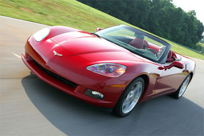 2008 Victory Red Corvette Convertible Raffle