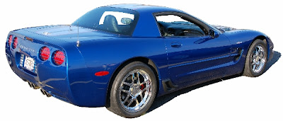 Chevrolet Corvette Blue Image
