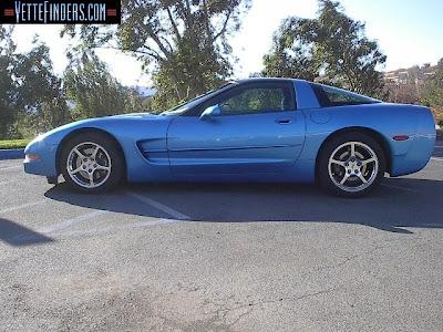 Corvette Coupe 2000 Nassau Blue Aside Picture
