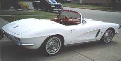 Classic Corvette 1962 White