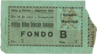 entrada de la inaguracion del Estadio El Mirador