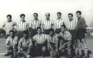 Alineacion del Algeciras CF en 1952