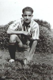 Andres Mateo en sus comienzos con al Algeciras CF
