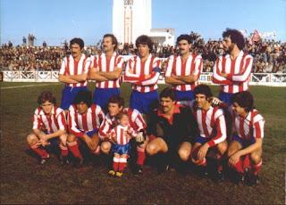 una Alineacion del Algeciras CF