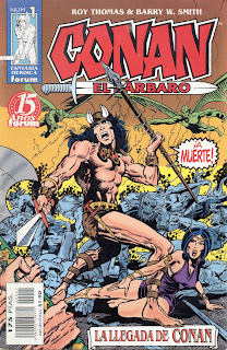 Comics Conan el Barbaro