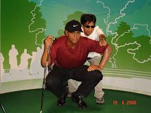 Me & Tiger, same-same mah...
