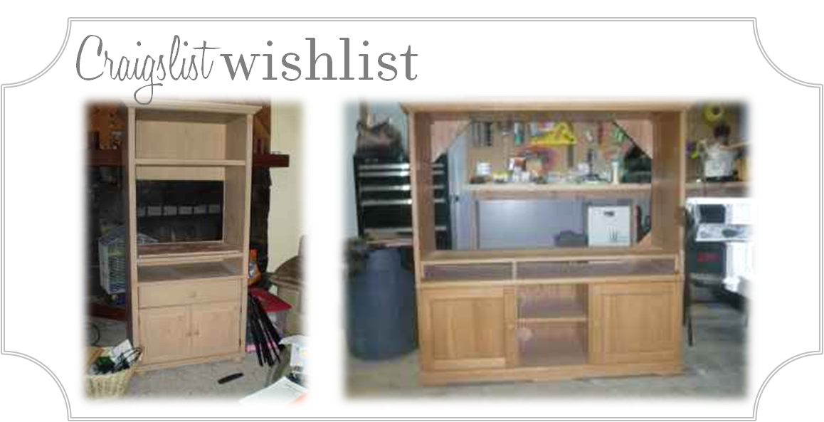 Finding My Aloha DIY Craigslist TV Stand to Custom Mudroom