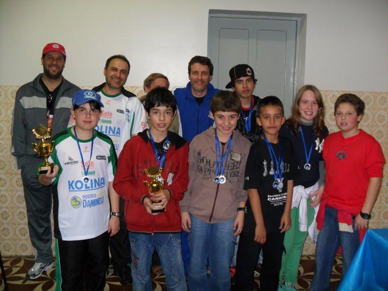 Equipe de Xadrez de Araranguá - CRICIUMA 2010