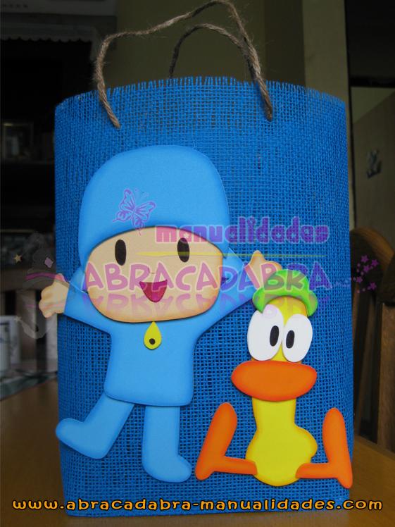 Canastas Para Baby Shower De Pocoyo