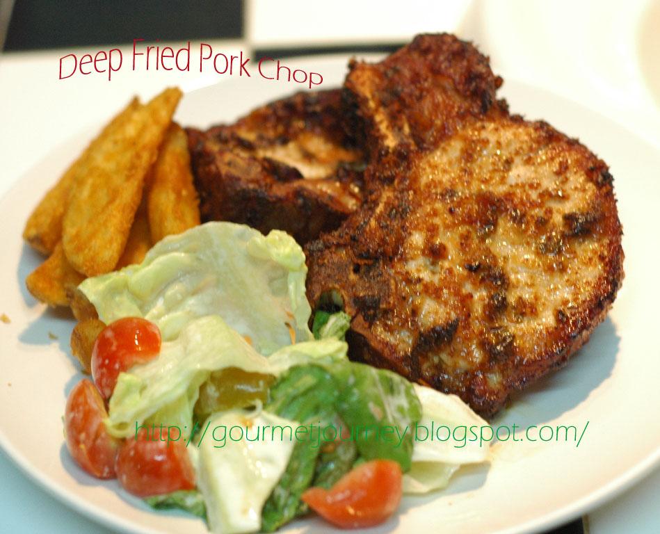 Gourmet Journey Deep Fried Pork Chop