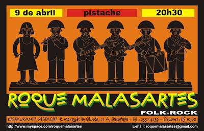 Cartaz Roque Malasartes no Pistache