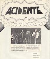 Revista Música de outubro de 1981 anuncia A Guerra Civil do Acidente